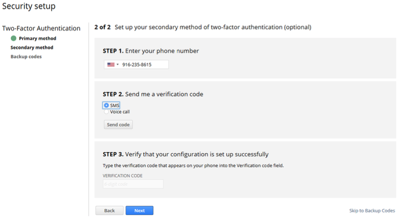 NetSuite Two-Factor Authentication: Support User Accounts
