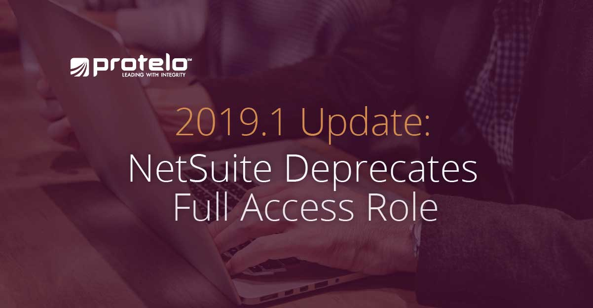 NetSuite 2019.1 update - are you prepared?