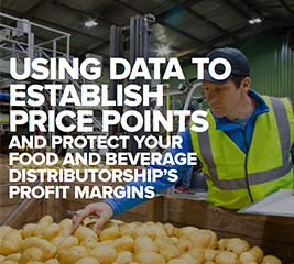 Using data to establish price points and protect your food and beverage distributorships profit margins