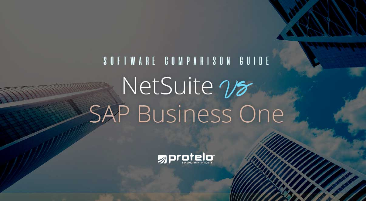 NetSuite vs SAP Business One - How to know the difference